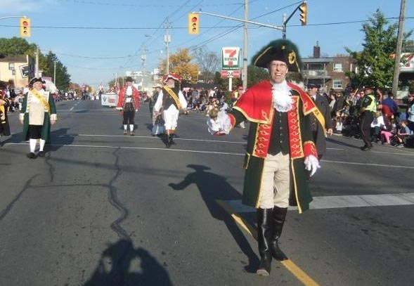 Town crier appearances for andrew welch for 7 kitchener parade mayfield east